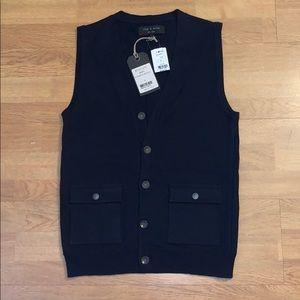 NWT Rag & Bone - Northampton Waistcoat/ Vest, S